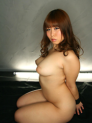 Busty asian girl Makino Eri sucking deeply